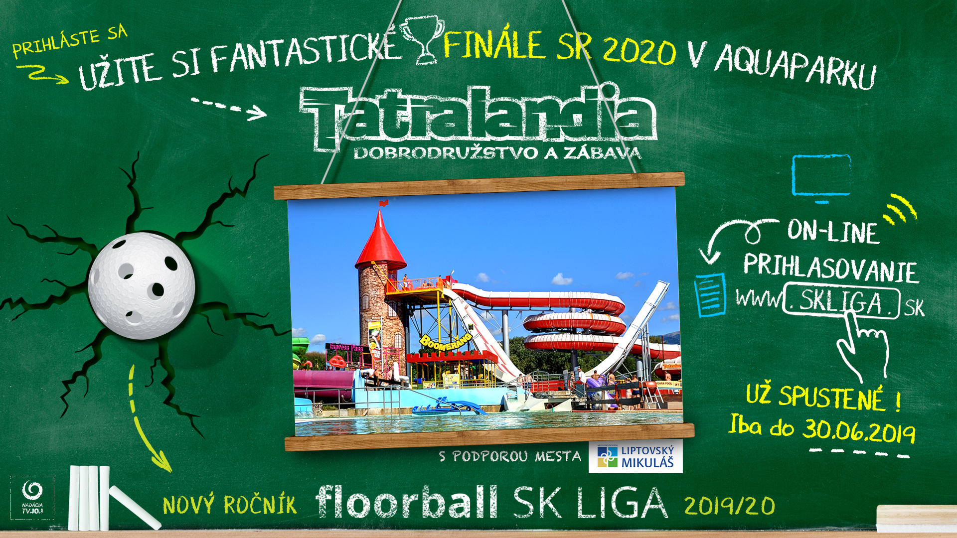 skliga 2019 2020 Tatralandia